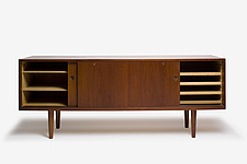 RY-26 Teak Cabinet, Danish, manufactured by RY Mobler - 12528-1700-1
